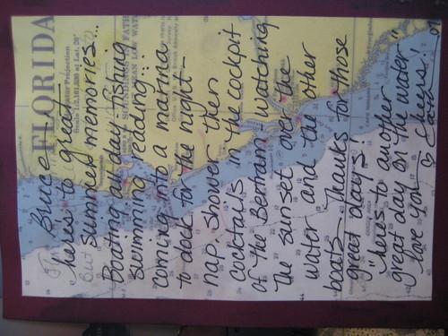 Journaling on map