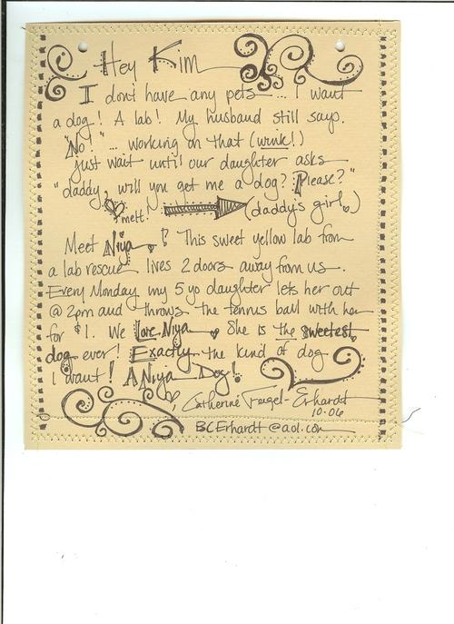 Niya journaling